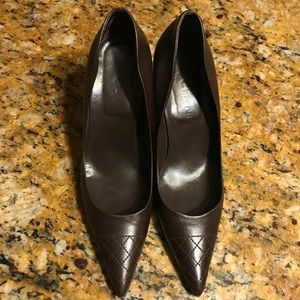 Chanel Quilted Pumps in Brown size 8.5